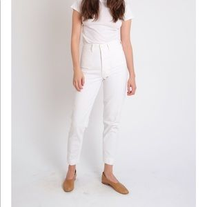 Jesse Kamm Ranger Pants - Salt White